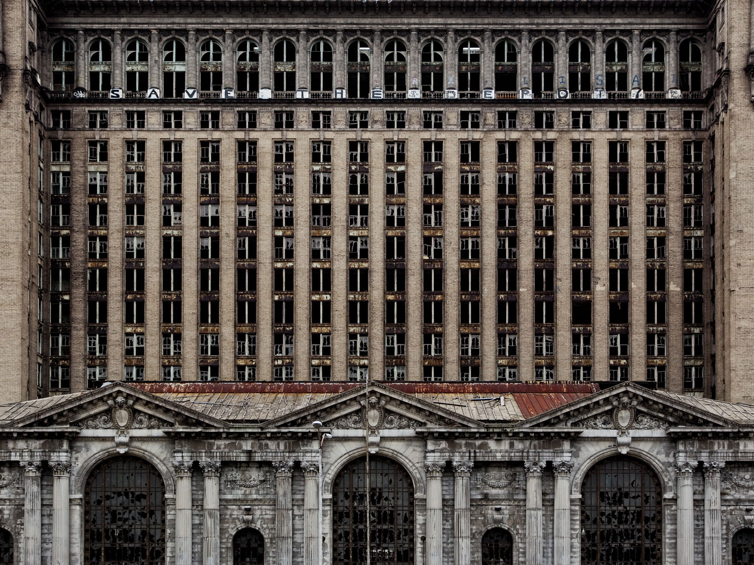 Detroit, MI &#8211; Michigan Central Train Station